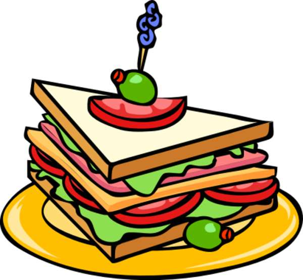 Free Food Borders Clipart