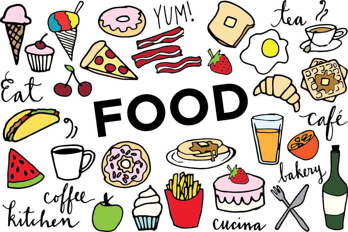 Food cliparts