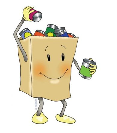Food drive clip art from the PTO Today Clip Art Gallery.