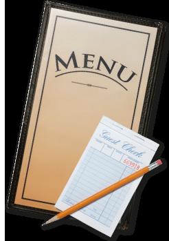 food menu clip art