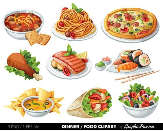 Food u0026middot; Food Clip art ...