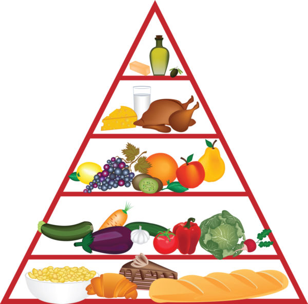 Food Pyramid Clip Art