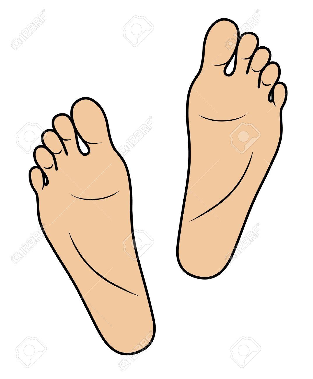 foot clipart-foot clipart-1