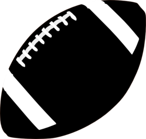 Football Clipart Black And White-football clipart black and white-9