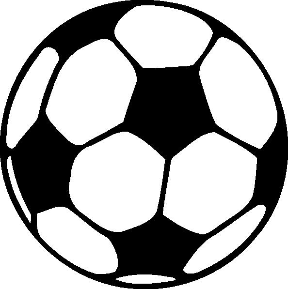 Football Clip Art - Football Clipart Black And White