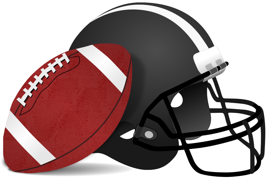 Football clip art free free clipart image 2