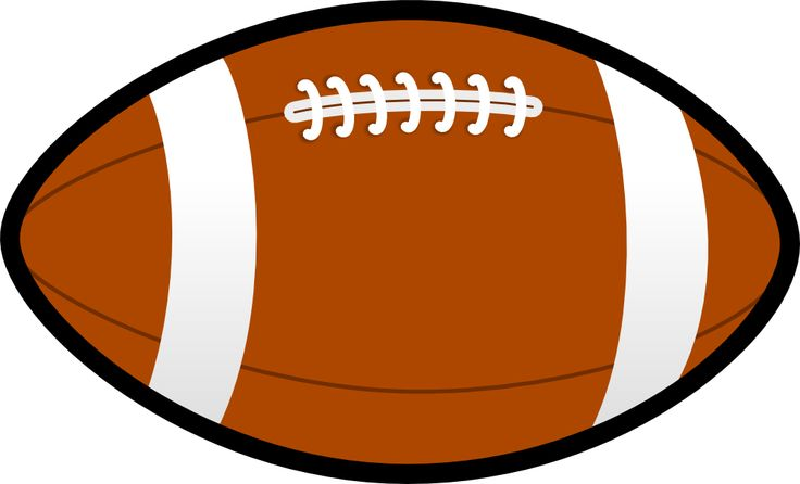Football Clip Art Image .-Football clip art image .-6