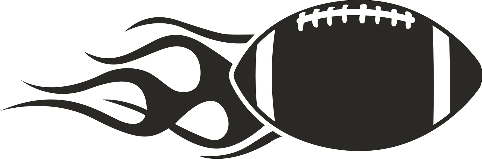 Football clip art to color free clipart images