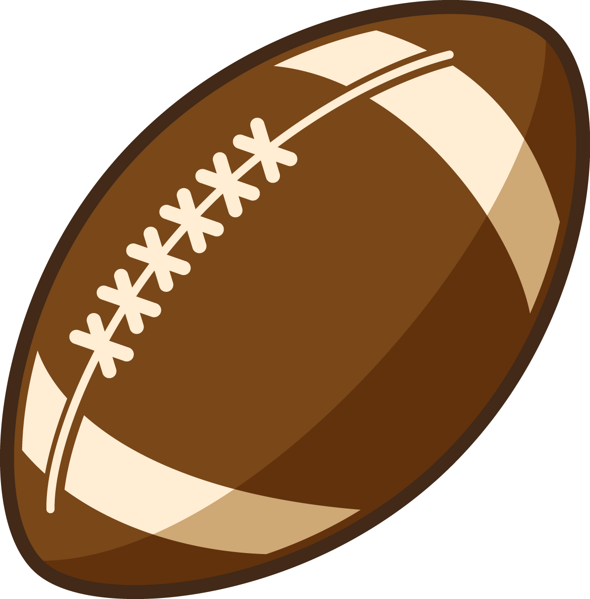 You Are Free To Use This American Footba-You are free to use this American football clip art on your sports  projects, magazines, e-books, presentations, blogs, videos, etc. Use this clip  art on ClipartLook.com -14