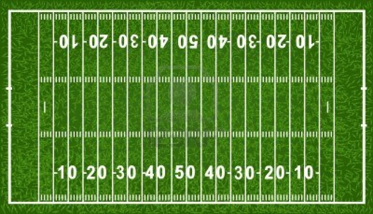 Football field, American .