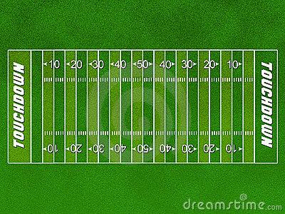 Football field clip art . Football Field Stock .