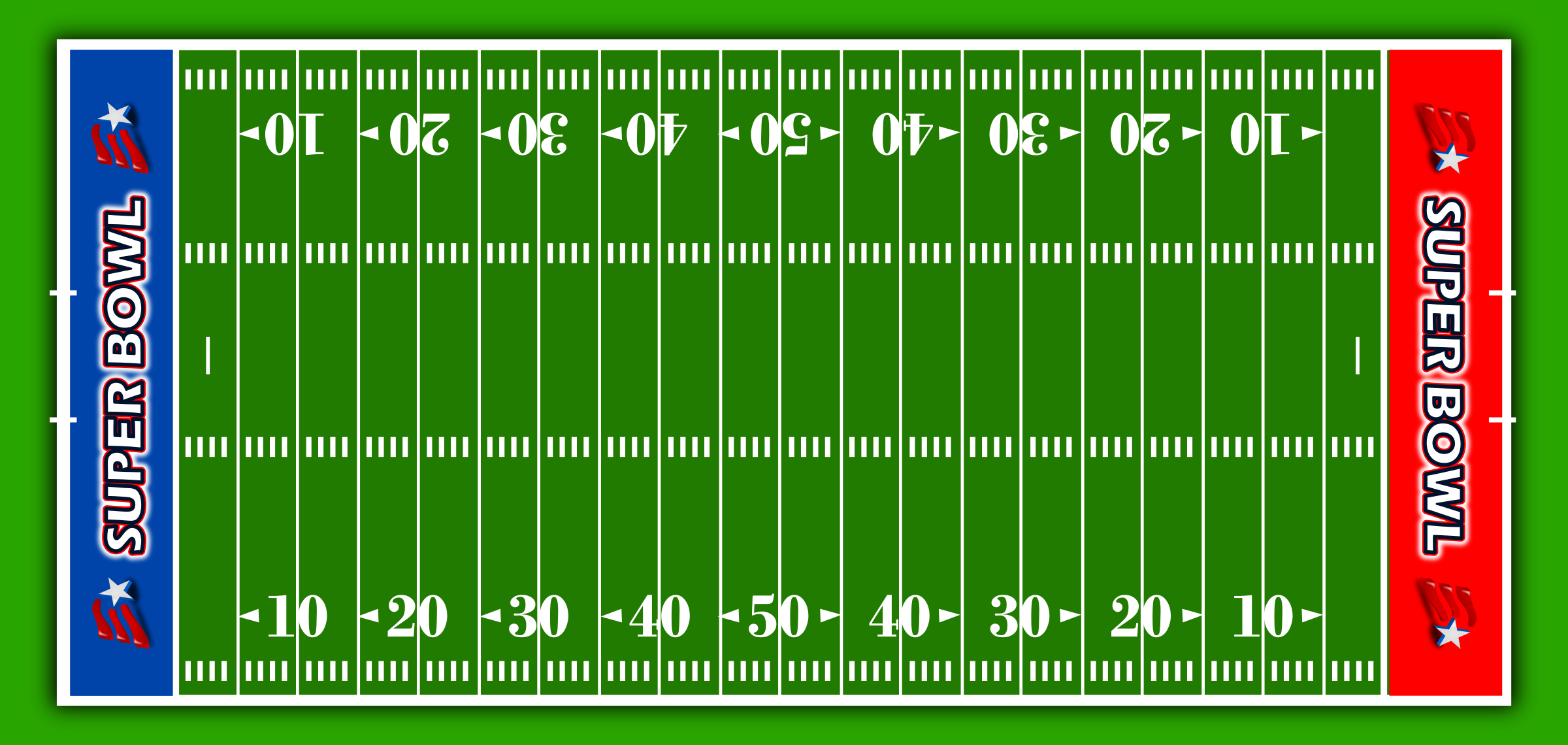 Football field clipart american football stadium
