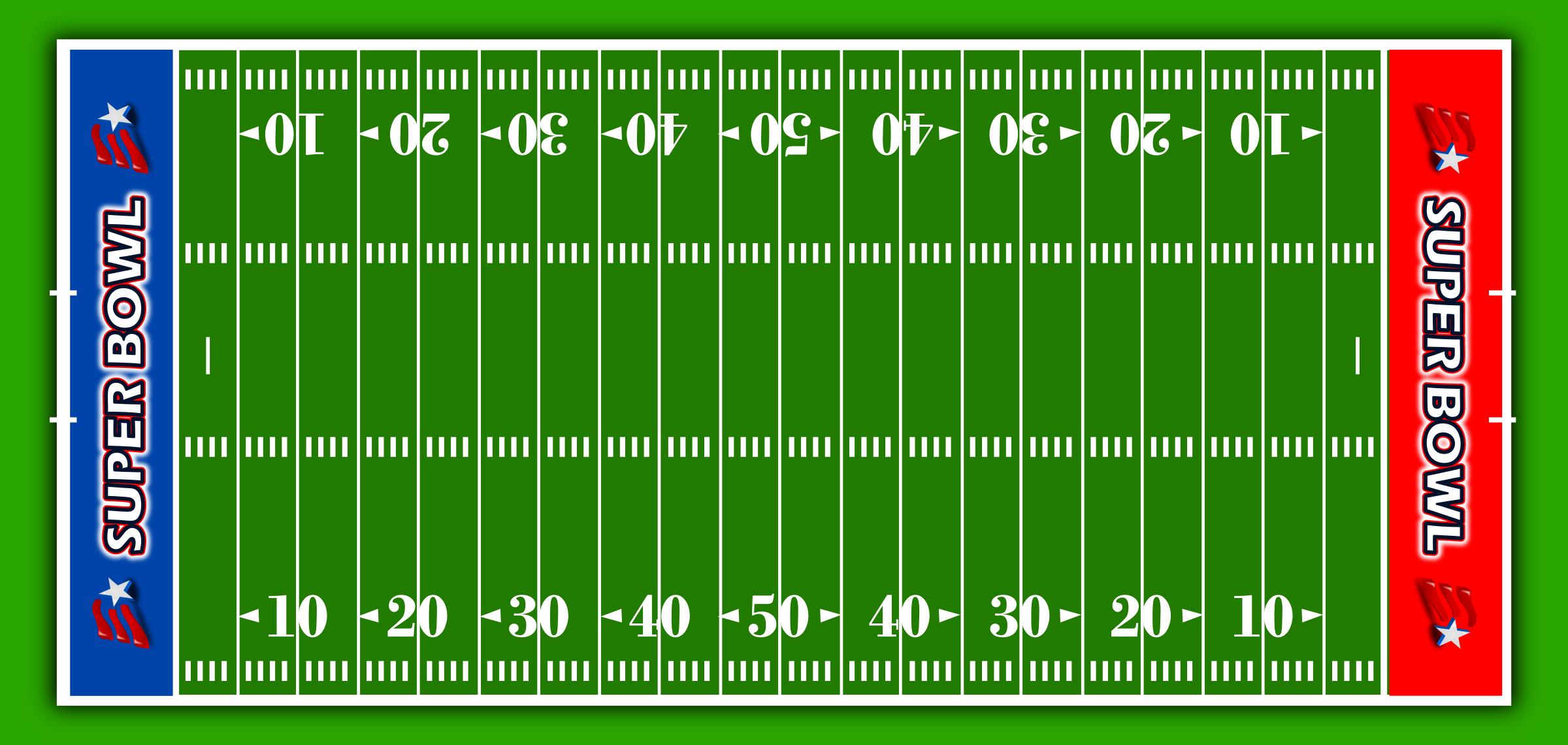 Football field clipart american football stadium