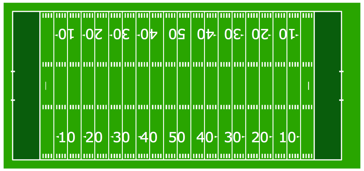 Football Field Clipart Images. 42303bd1215eb19282c0266bf789a7 . Football Solution Conceptdraw Com