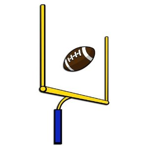 Football Field Goal Clipart . Football Goal Post Pictures .