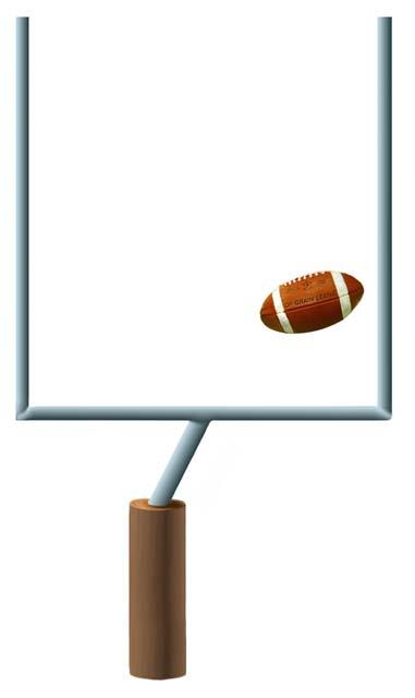 Football Field Goal Post Clipart Football Follies