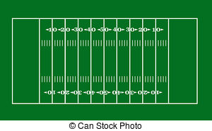 ... Football Field - Lay-out Of An Ameri-... football field - lay-out of an American football field football field Clipartby ...-15