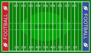 Football Field Offense Clipart Free Clip-Football field offense clipart free clipart images-7