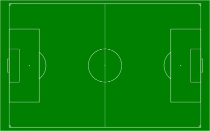 Football field soccer field football pitch clip art free vector in open office