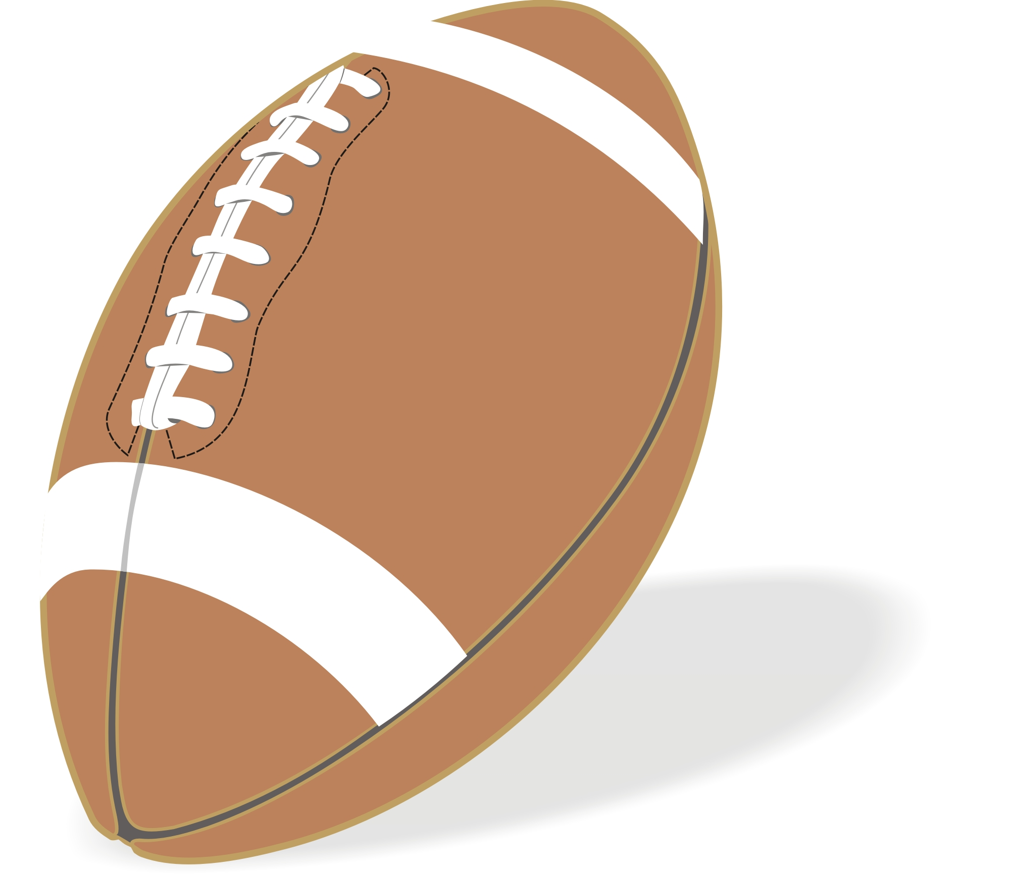 Football Free Images At Clker Com Vector Clip Art Online Royalty