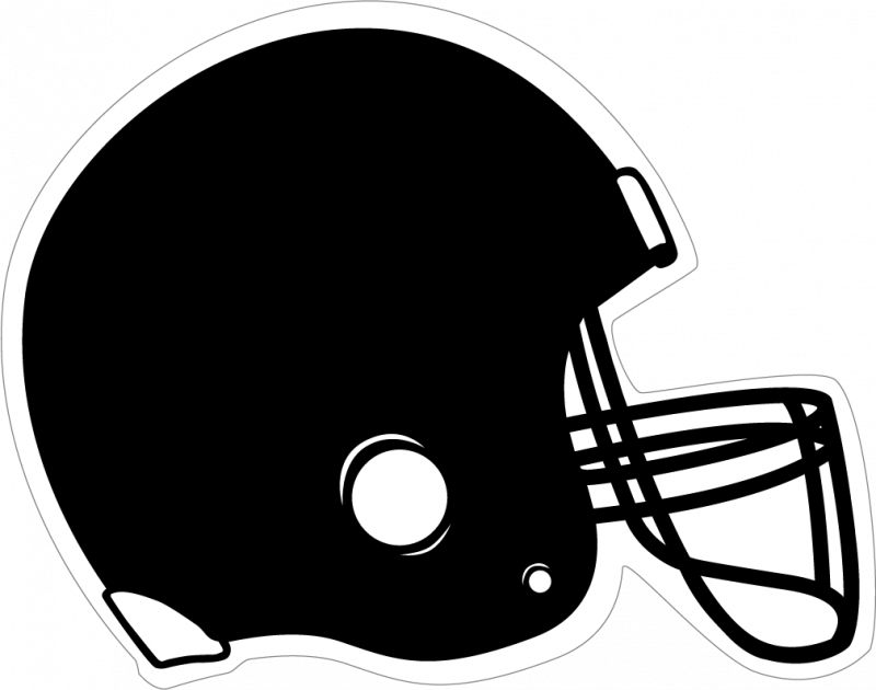 Football helmet clip art free clipart image 2