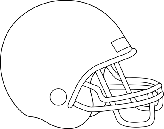 Football helmet clip art free clipart images image