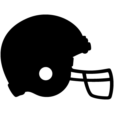 Football helmet clipart 3