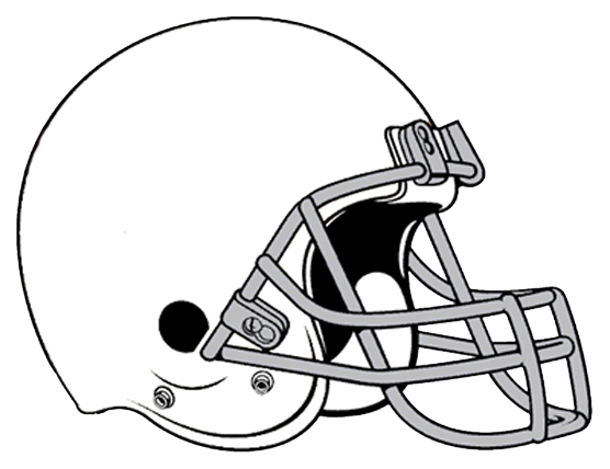 Football Helmet Clipart Black And White Clipart Panda Free Clipart