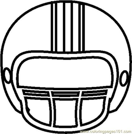 Football Helmet Front Clipart-Football helmet front clipart-12