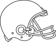 Football Helmet Vector .