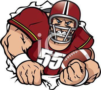 Football player clip art ... 0c1741a33916ea687229cf6c89ba09 .