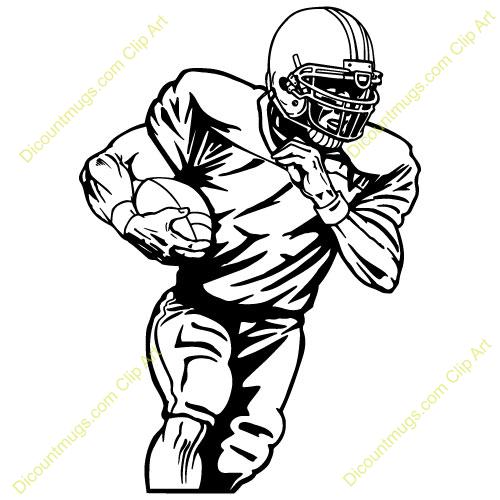 Football Player Clip Art Football Player Clip Art Football Player Clip