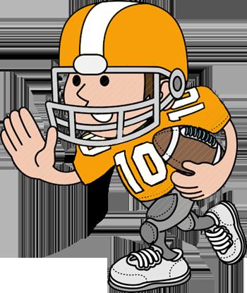 Football Player Clip Art-Football Player Clip Art-0