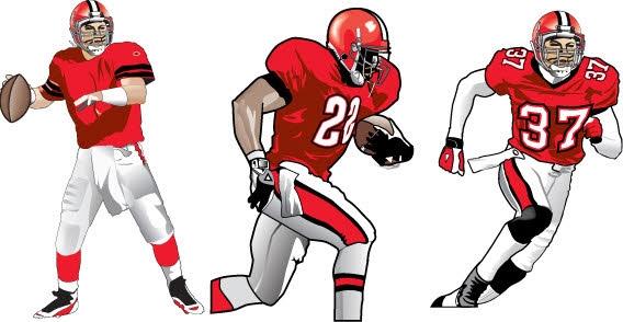 Football Player Clip Art-Football Player Clip Art-16