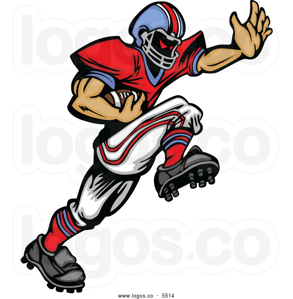 Football Player Clip Art-Football Player Clip Art-16
