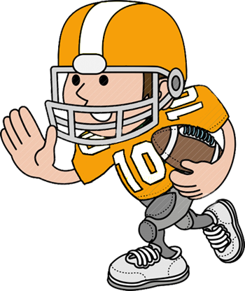 Football Player Clip Art-Football Player Clip Art-1