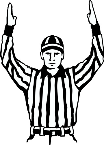 Football Referee Clipart