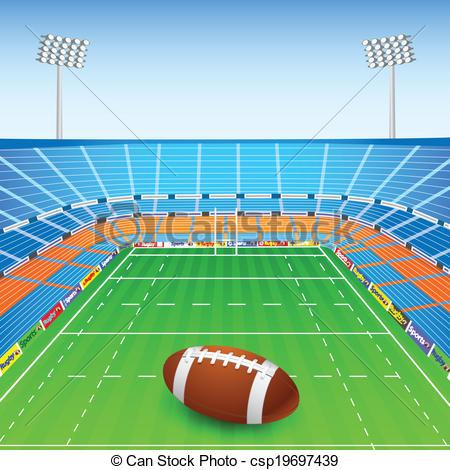 Football Stadium Clipart - .-Football stadium clipart - .-13