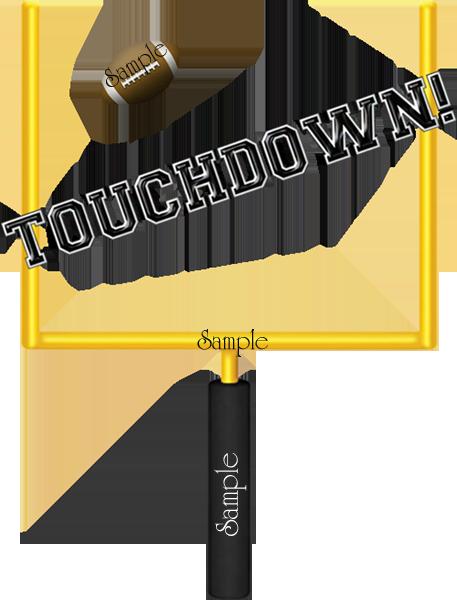 Football Touchdown Clipart