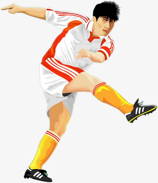 athlete, Play Football, Footballer PNG Image and Clipart