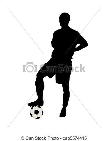 Footballer - Csp5574415-Footballer - csp5574415-10