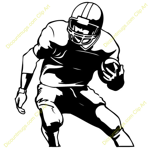 Footballplayer Clip Art