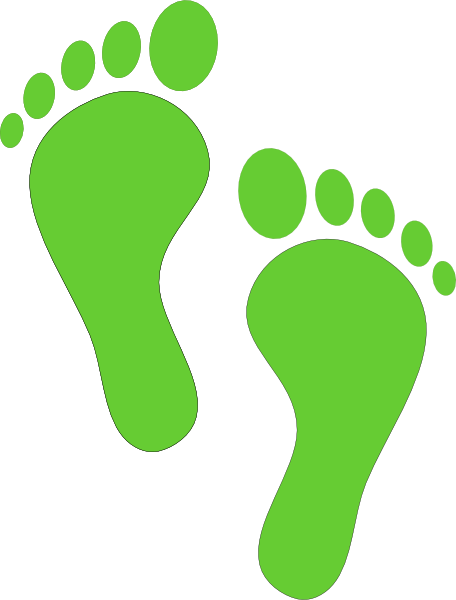 Footprint Clip Art At Clker Com Vector Clip Art Online Royalty Free