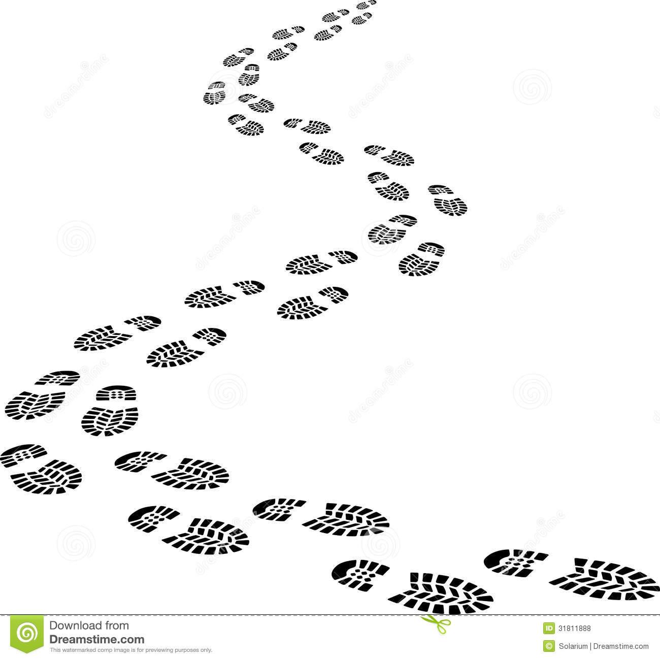 Footprints Free Clipart .-Footprints Free Clipart .-10