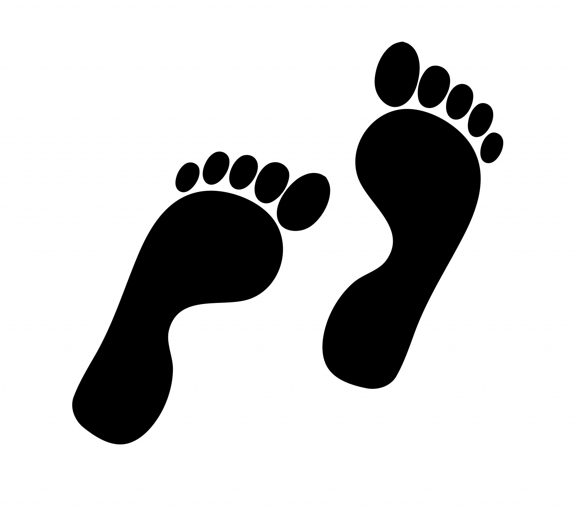 Footprints Silhouette Clipart Free Stock-Footprints Silhouette Clipart Free Stock Photo Hd Public Domain-6