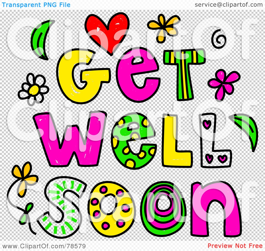 For Get Well Soon Clipart .