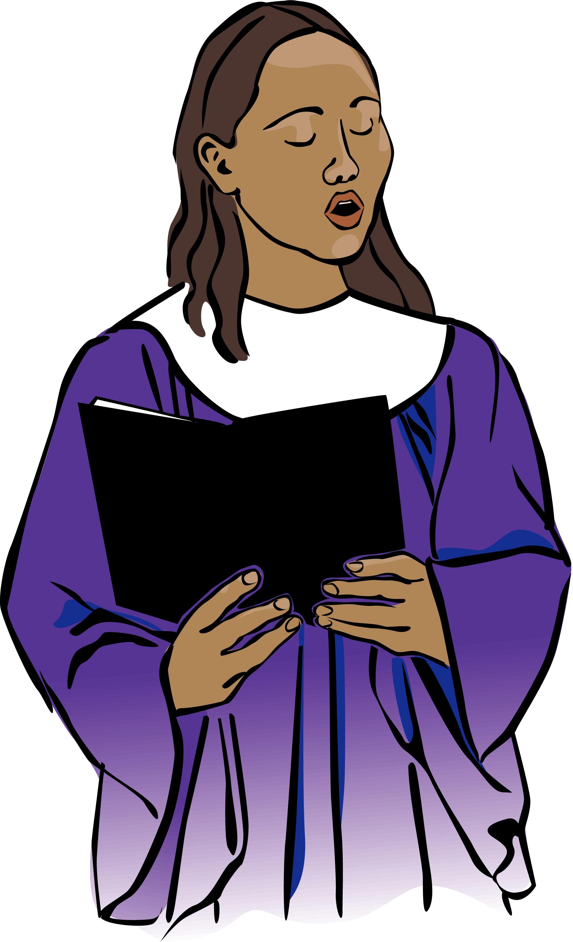 For Gospel Choir Clip Art .