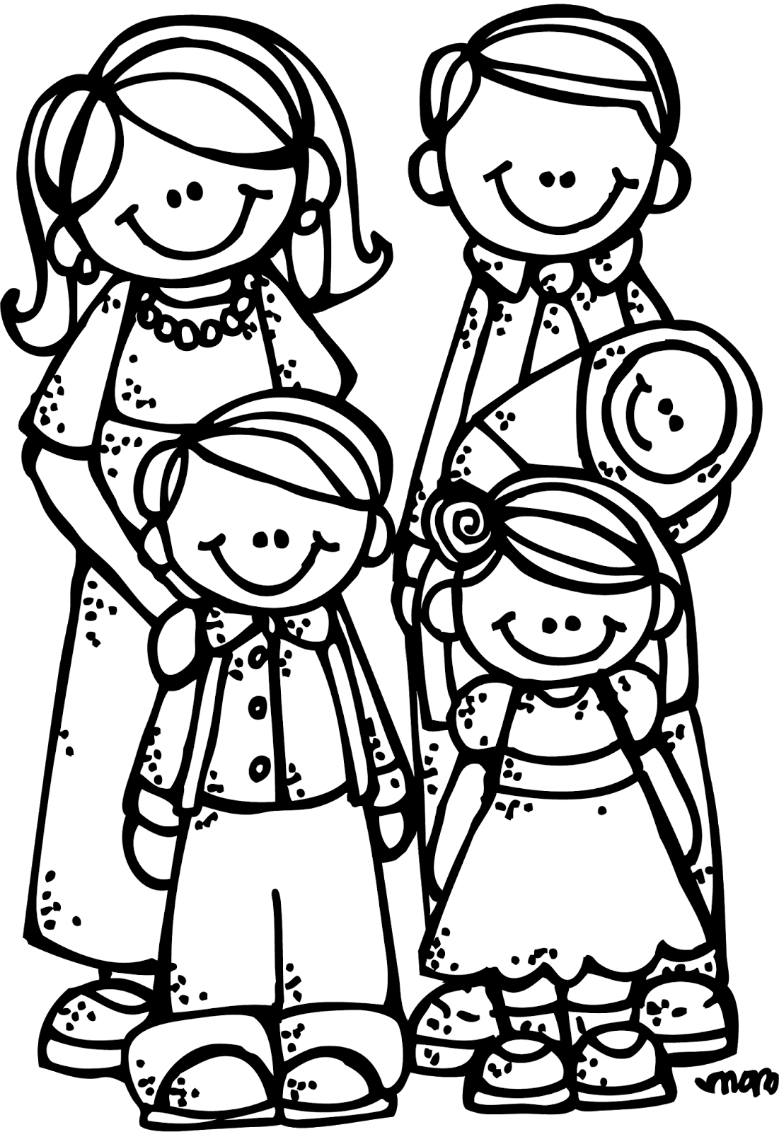 For Holy Family Clip Art .