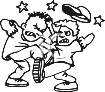 For No Fighting Clipart