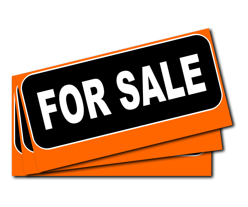 For Sale. Moving Clip Art